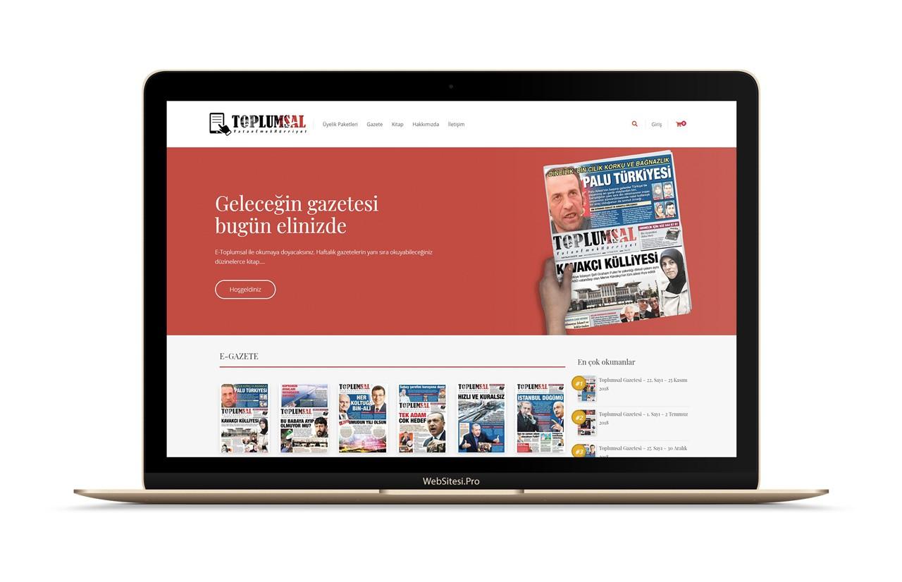 E-Toplumsal Gazete